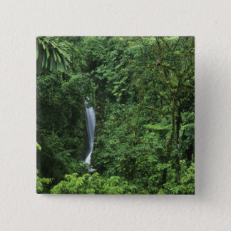 Costa Rica, Arenal Volcano area, Hanging Bridges Pinback Button