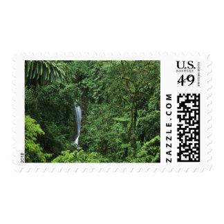 Costa Rica Arenal Volcano area Hanging Bridges Stamps