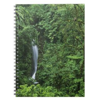 Costa Rica, Arenal Volcano area, Hanging Bridges Spiral Notebook