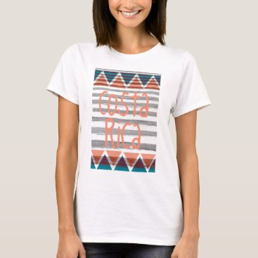 Aztec Themed Costa Rica Aztec T-shirt