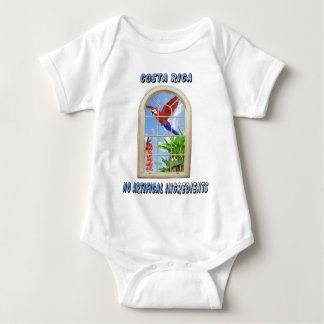 Costa Rica Baby Bodysuit