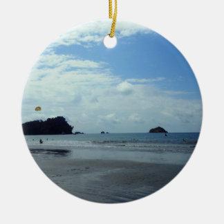 Costa Rica beach Ornament