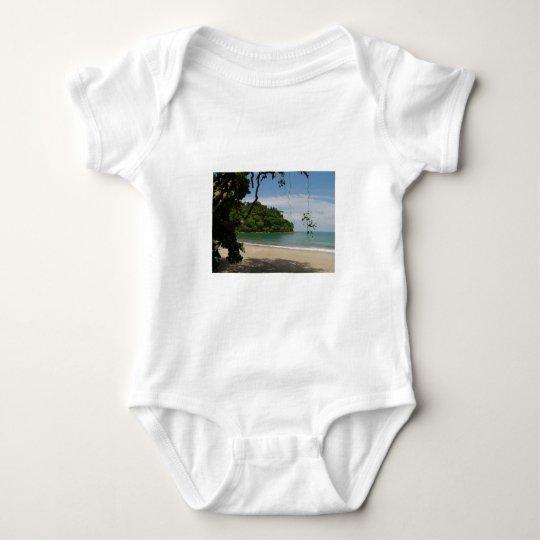 Costa Rica Beach Paradise Baby Bodysuit