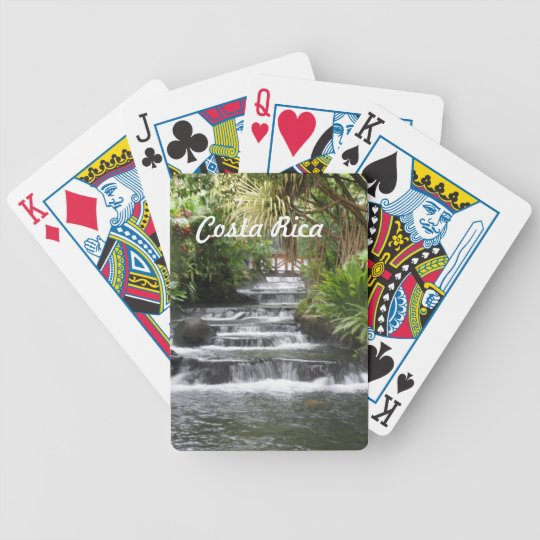Costa Rica Bicycle Playing Cards