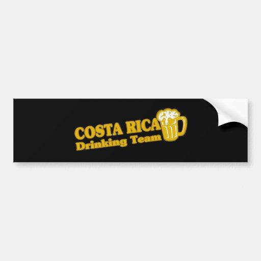 COSTA RICA CAR BUMPER STICKER
