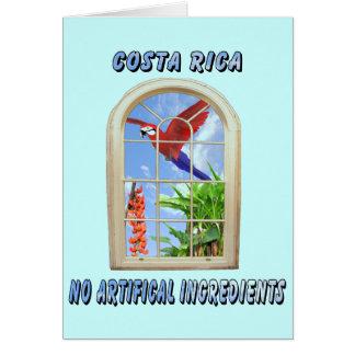 Costa Rica Greeting Card