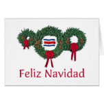 Costa Rica Christmas 2 Card
