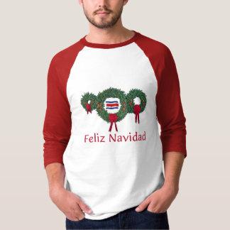 Costa Rica Christmas 2 T-Shirt