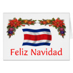 Costa Rica Christmas Greeting Cards