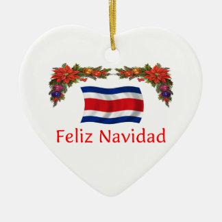 Costa Rica Christmas Ornament