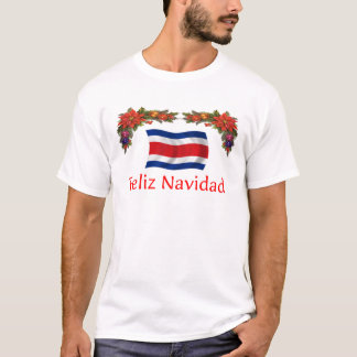 Costa Rica Christmas T-Shirt