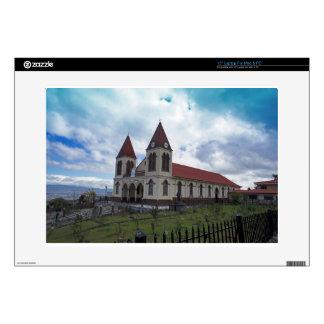 costa rica church laptop skin