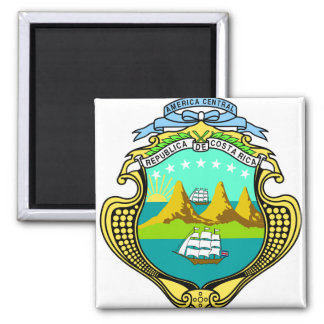 Costa Rica Coat of Arms detail Magnet