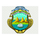 Costa Rica Coat of Arms detail Post Cards