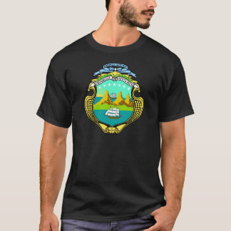 Costa Rica Coat of Arms detail T-Shirt