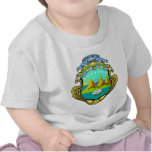 Costa Rica Coat of Arms detail Tees