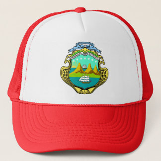 Costa Rica Coat of Arms detail Trucker Hat