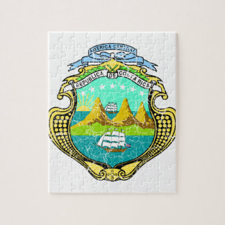 Costa Rica Coat Of Arms Jigsaw Puzzles