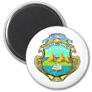 Costa Rica Coat Of Arms Fridge Magnet