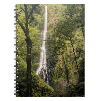 Costa Rica, Cocos Island, Wafer Bay Waterfall Notebook