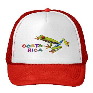 Costa Rica colorido Gorros