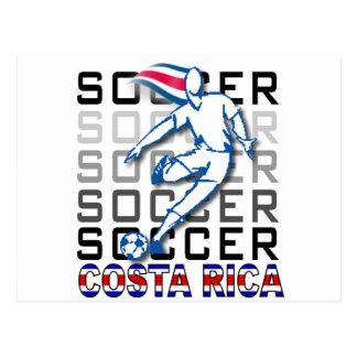 Costa Rica Copa America 2011 Postcard
