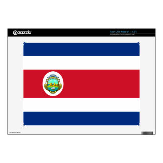 Costa Rica Costa Rican Flag Acer Chromebook Decals