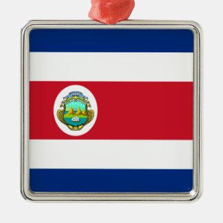 Costa Rica – Costa Rican National Flag Christmas Tree Ornament