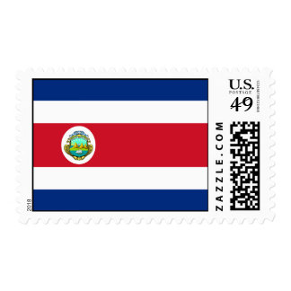 Costa Rica – Costa Rican National Flag Postage Stamp