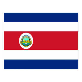 Costa Rica – Costa Rican National Flag Postcard