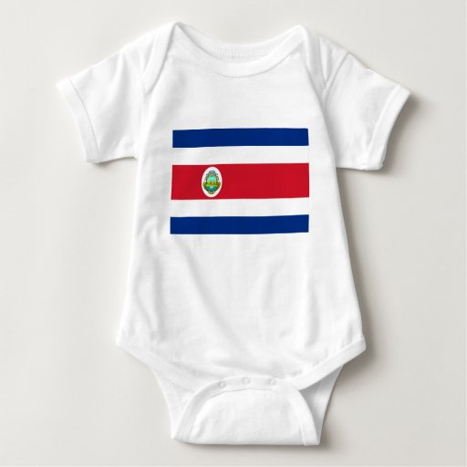 Costa Rica – Costa Rican National Flag Tees