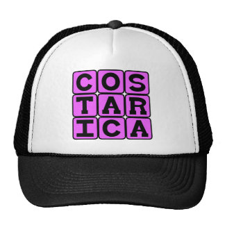 Costa Rica, Country in Central America Trucker Hats