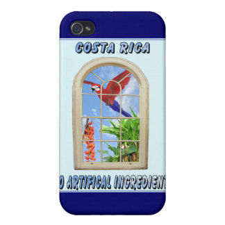Costa Rica Covers For iPhone 4