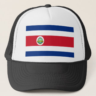 costa rica crest trucker hat
