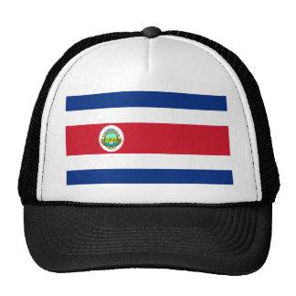 costa rica crest trucker hat