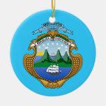 COSTA RICA* Custom Christmas Ornament