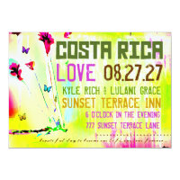 COSTA RICA Destination Invitation