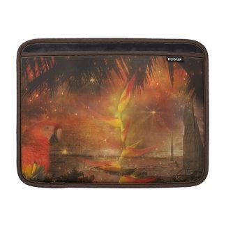 Costa Rica - destino del viaje y del día de fiesta Funda MacBook