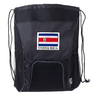 Costa Rica Drawstring Backpack