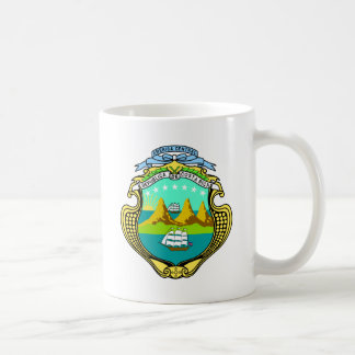 costa rica emblem coffee mug