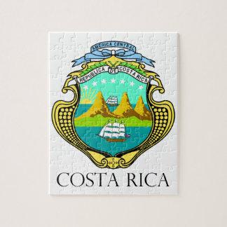 COSTA RICA - emblem/flag/coat of arms/symbol Puzzles