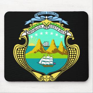 costa rica emblem mouse pad