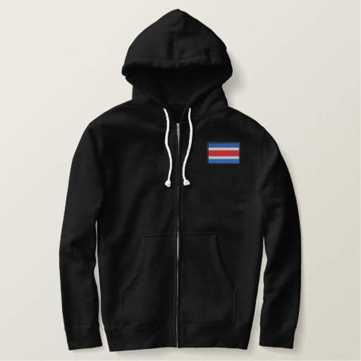 Costa Rica Embroidered Hoodie
