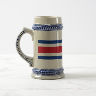 costa rica ensign beer stein