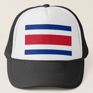 costa rica ensign trucker hat