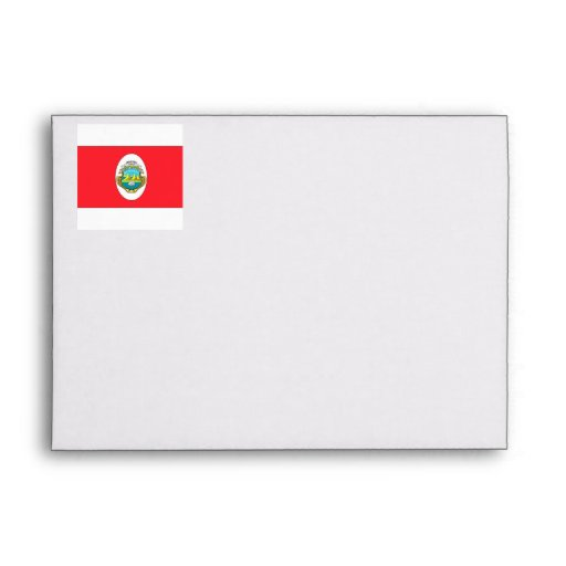 Costa Rica Envelopes