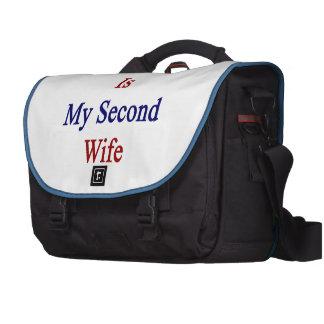 Costa Rica es mi segunda esposa Bolsas Para Portátil