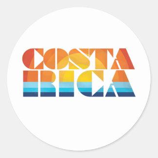 Costa Rica Etiquetas