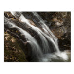 Costa Rica, Fast flowing waterfall Postcard