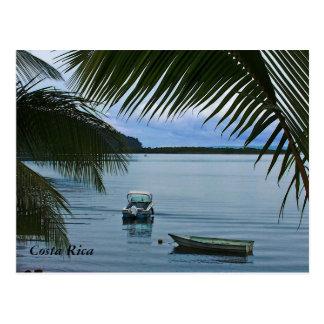 Costa Rica Fishing Boats Post Card